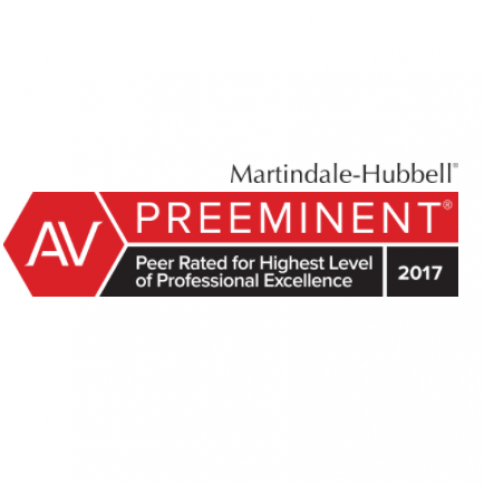 Martindale-Hubble® Peer Review Ratings™